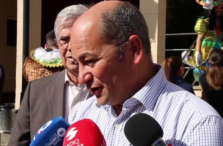El concejal socialista Luis Chacón, en una foto de archivo