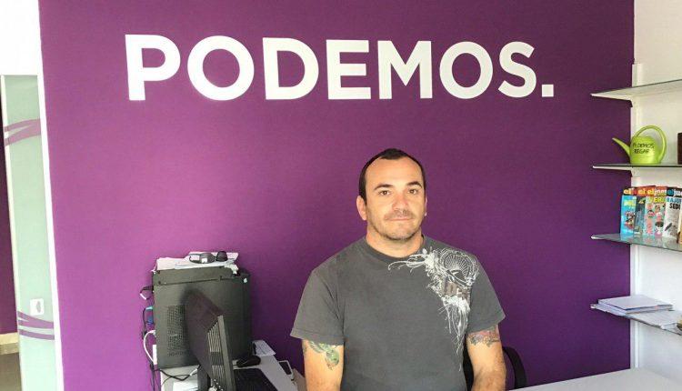 Andrés Briansó, consejero de Podemos en el Cabildo de Fuerteventura (Archivo)