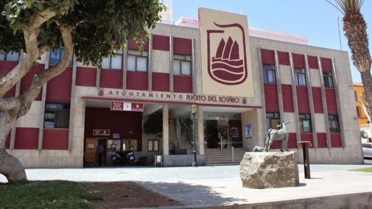Fachada del Ayuntamiento de Puerto del Rosario