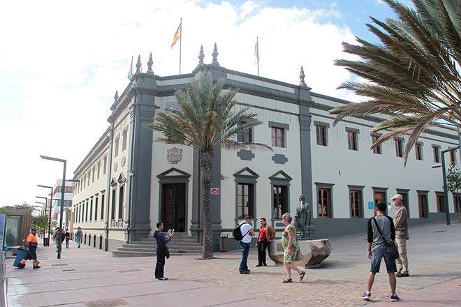 Edificio del Cabildo de Fuerteventura en una imagen de archivo
