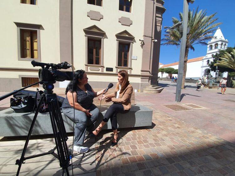 Entrevista a Lola García Foto: Archivo