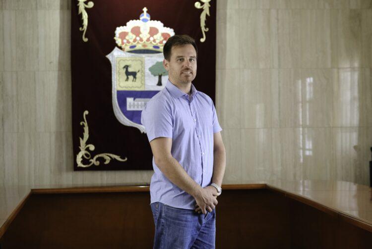 Concejal de Contratación de La Oliva, David Fajardo