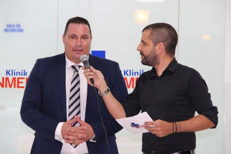 Jorge García junto a Álvaro Veiga, en una foto de archivo