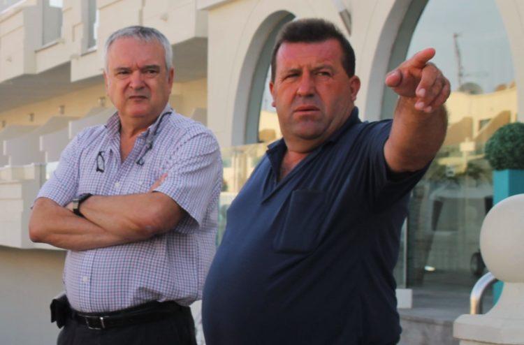 Francisco Ufano y Matías Peña, en una foto de archivo