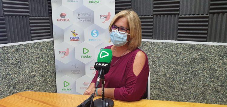 Grimi González en Radio Insular