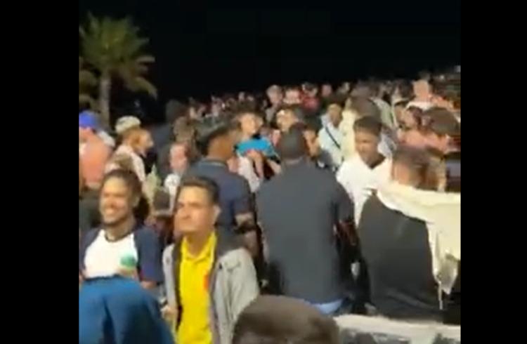 Imagen de archivo un video viral de una celebración reciente en Corralejo (Redes sociales)
