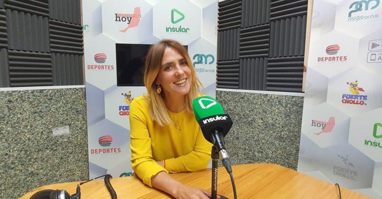 Ángela Mosquera, directora comercial de Producciones Majoreras
