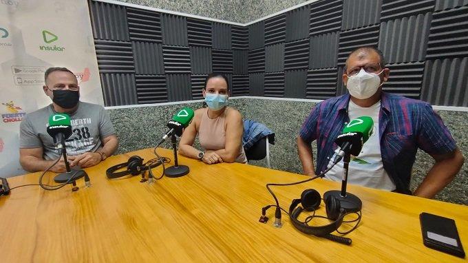 Carballo, Garcia y Hernández, residentes cubanos