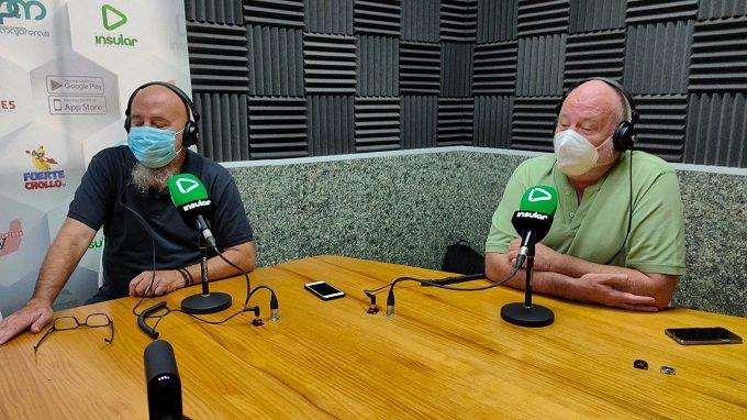 Martín y Lobo en Radio Insular