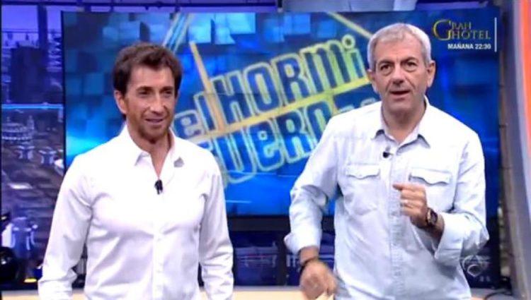 Pablo Motos y Carlos Sobera (Foto: Antena 3)