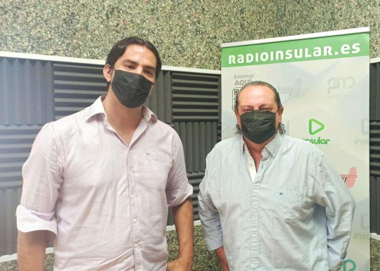 Hernández y Blasco en Radio Insular