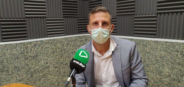 Alejandro Jorge en Radio Insular
