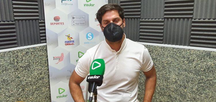 Juanjo Pérez, director de YRICHEN, en Radio Insular