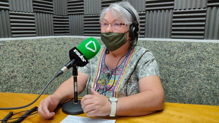 Ana Trujillo en Radio Insular