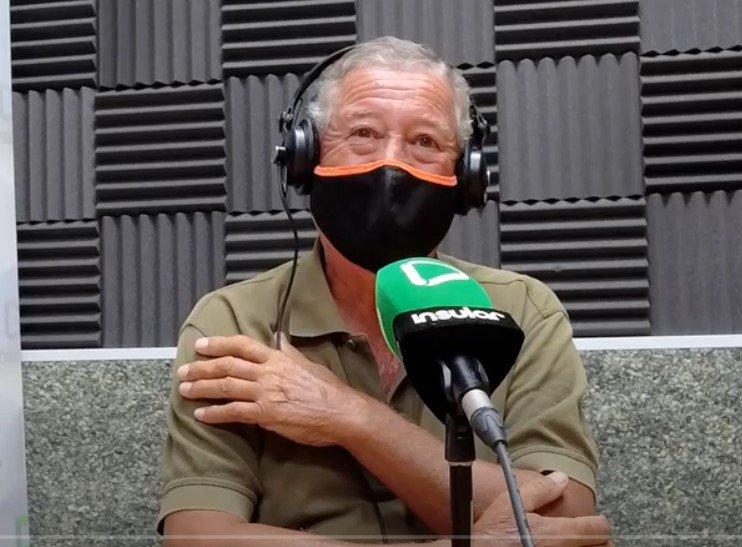 Carlos Chiara en Radio Insular